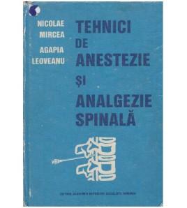 Tehnici de anestezie si...