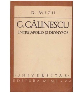 G. Calinescu intre Apollo...