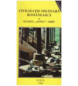 Civilizatie milenara...