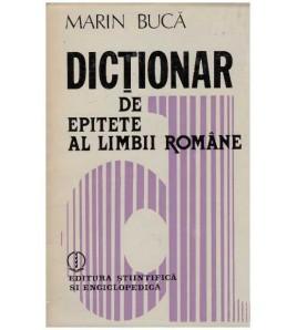Dictionar de epitete al...