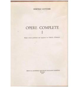 Opere complete - I - ed....