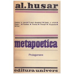 Metapoetica - Prolegomene
