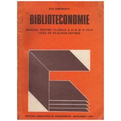 Biblioteconomie - manual...