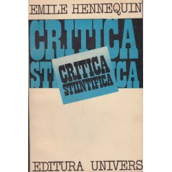 Critica stiintifica