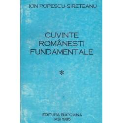 Cuvinte romanesti...