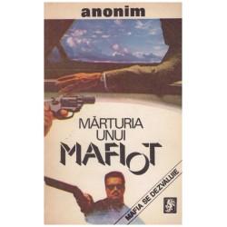 Marturia unui mafiot