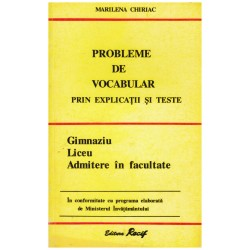 Probleme de vocabular prin...