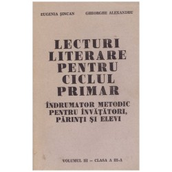 Lecturi literare pentru...