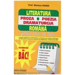 Literatura romana pentru...