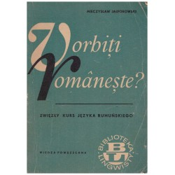 Vorbiti romaneste?