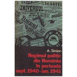 Regimul politic din Romania...