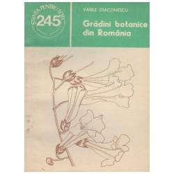 Gradini botanice din Romania