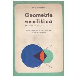 Geometrie analitica -...