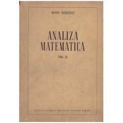 Analiza matematica vol.2
