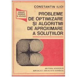 Probleme de optimizare si...