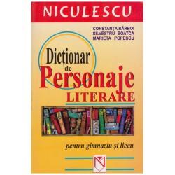 Dictionar de persoanje...