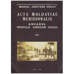 Acta moldaviae meridionalis...