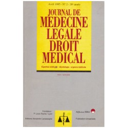 Journal de medecine legale...