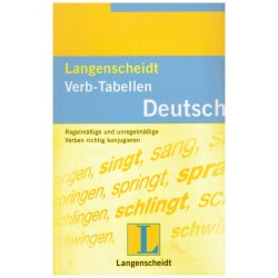 Langenscheidt Verb-Tabellen...