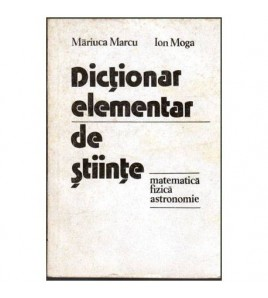 Dictionar elementar de...