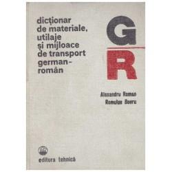 Dictionar de materiale,...