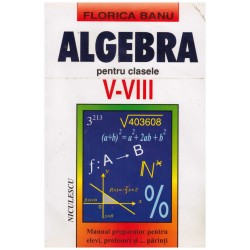 Algebra pentru clasele V-VIII