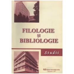 Filologie si bibliologie -...