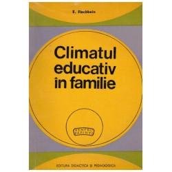 Climatul educativ in familie