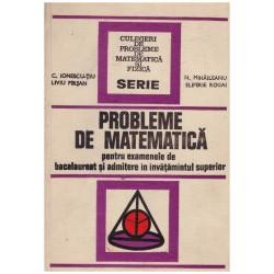 Probleme de matematica...