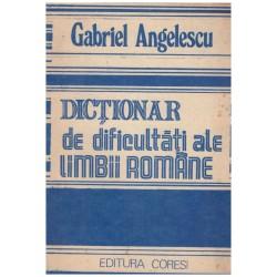 Dictionar de dificultati...