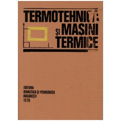 Termotehnica si masini termice