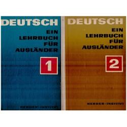 Deutsch - ein lehrbuch fur...