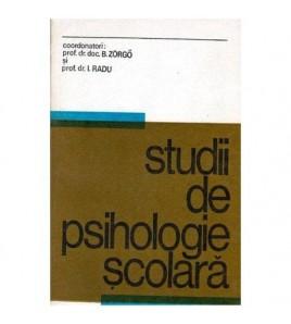 Studii de psihologie scolara