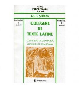 Culegere de texte latine -...