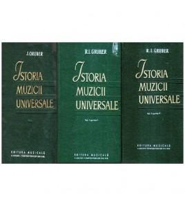 Istoria muzicii universale...
