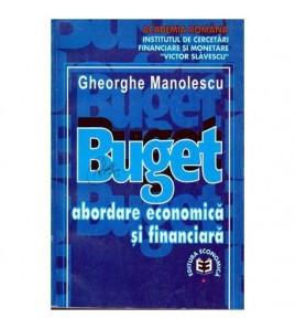 Buget - Abordare economica...