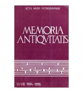 Memoria Antiquitatis...