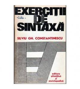 Exercitii de sintaxa