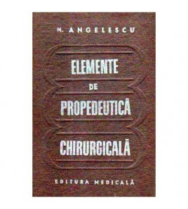 Elemente de propedeutica...
