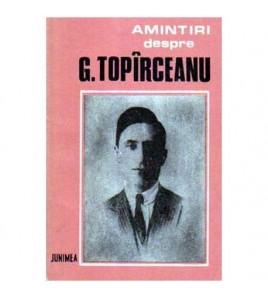 Amintiri despre G. Topirceanu