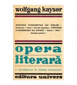 Opera literara - o...