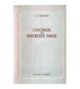 Calculul cu diferente finite