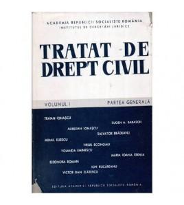 Tratat de drept civil vol.I...