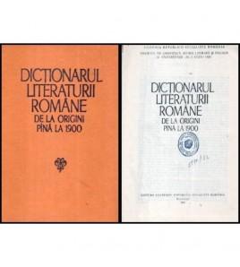 Dictionarul Literaturii...