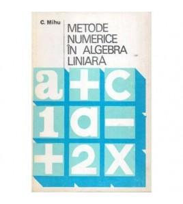 Metode numerice in algebra...