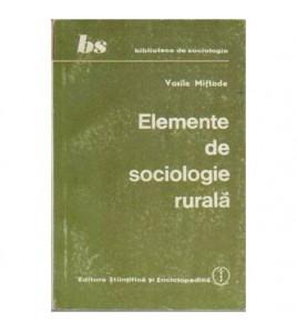 Elemente de sociologie rurala