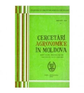 Cercetari agronomice in...