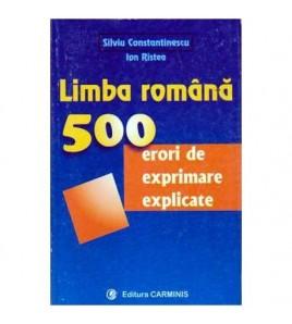 Limba romana. 500 de erori...