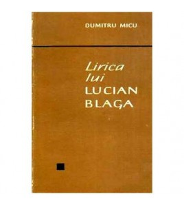 Lirica lui Lucian Blaga