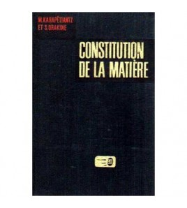 Constitution de la matiere